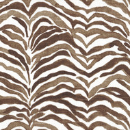 Serengeti Cafe Brown Animal Print Decorative Pillow