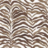 Serengeti Cafe Brown Animal Print Bolster Pillow