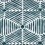 Heni Plantation Blue Contemporary Duvet Cover