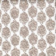 Zira Bisque Gray Medallion Rod Pocket Curtain Panels