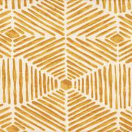 Heni Goldenrod Contemporary Rod Pocket Curtain Panels