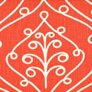 Barcelona Salmon Scroll Round Tablecloth
