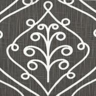 Barcelona Summerland Gray Scroll Duvet Cover