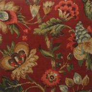 Elizabeth Floral Cardinal Gathered Bedskirt