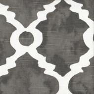 Madrid Summerland Gray Spanish Tile Bradford Valance, Lined