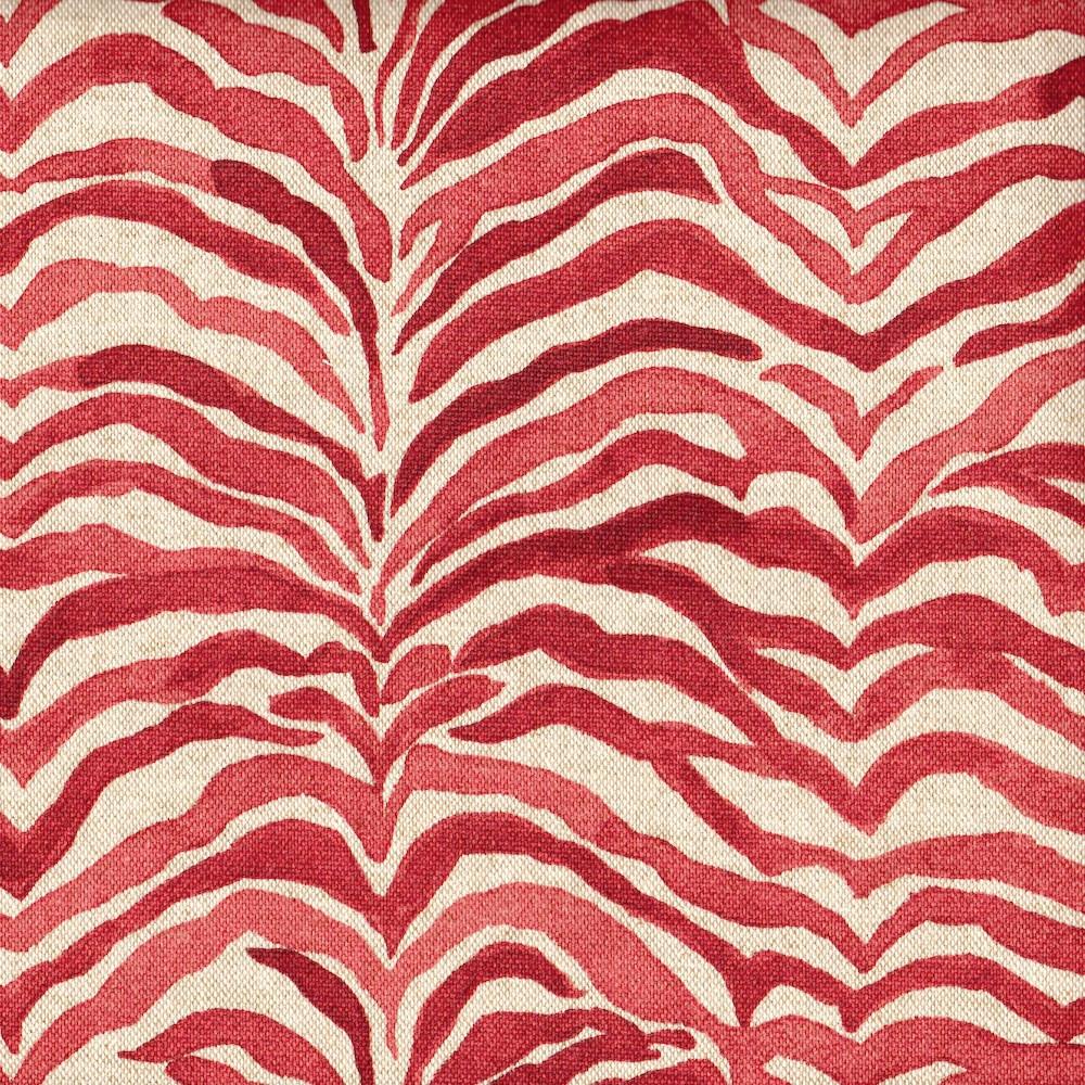 Serengeti Coral Animal Print Duvet Cover Close To Custom