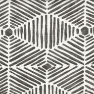 Heni Summerland Gray Contemporary Rod Pocket Curtain Panels