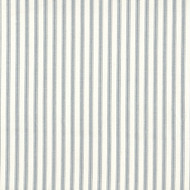 French Country Dove Gray Ticking Stripe Tailored Valance, Lined
