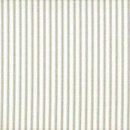 French Country Pebble Taupe Ticking Pinch-Pleated Patio Door Curtain Panels