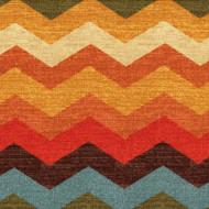 Panama Wave Adobe Duvet Cover