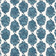 Zira Seaside Blue Medallion Round Tablecloth