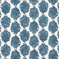 Zira Seaside Blue Medallion Decorative Pillow
