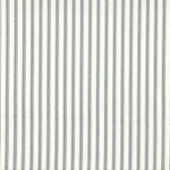 French Country Dove Gray Ticking Stripe Tailored Bedskirt