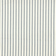 French Country Dove Gray Ticking Stripe Empress Swag Valance, Lined