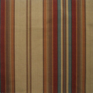Carlton Stripe Cardinal Gathered Bedskirt