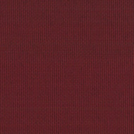 Hunt Club Claret Red Scallop Valance, Lined