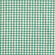 French Country Pool Green Gingham Shower Curtain with Valance