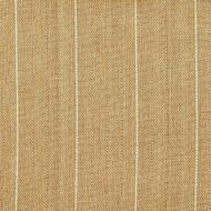 Copley Stripe Caramel Scallop Valance, Lined