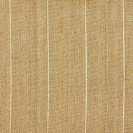 Copley Stripe Caramel Rod Pocket Tailored Tier Curtain Panels