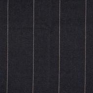 Copley Stripe Black Gathered Bedskirt