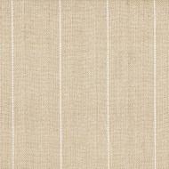 Copley Stripe Oatmeal Rod Pocket Tailored Tier Curtain Panels
