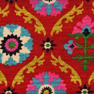 Mayan Medallion Desert Flower Shower Curtain with Band
