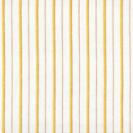Piper Honey Gold Stripe Shower Curtain with Band