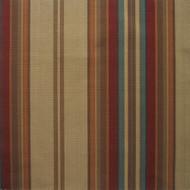 Carlton Stripe Cardinal Rod Pocket Curtain Panels