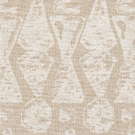 Juju Chalk White Tailored Valance, Lined