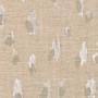 Asher Chalk White Metallic Empress Swag Valance, Lined
