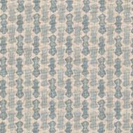 Echo Swedish Blue Gathered Bedskirt