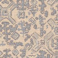 Nomad Swedish Blue Metallic Gathered Bedskirt