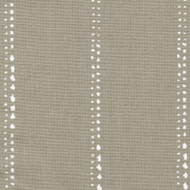 Carlo Cove Taupe Stripe Rod Pocket Curtain Panels