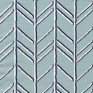 Bogatell Spa Blue Geometric Tailored Bedskirt