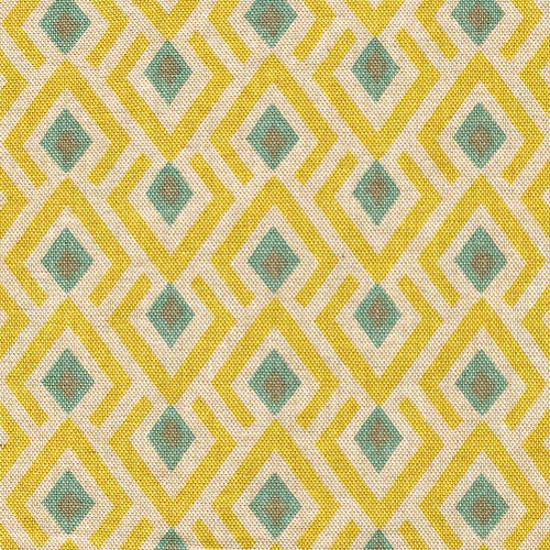 Archery Collins Geometric Tailored Valance, Lined