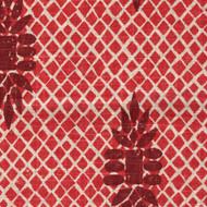 Boca Garnet Red Round Tablecloth