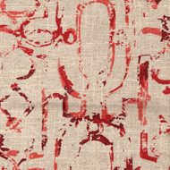 Miramar Garnet Red Round Tablecloth