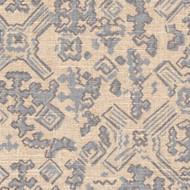 Nomad Swedish Blue Metallic Round Tablecloth