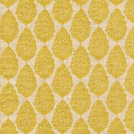 Jersey Collins Yellow Medallion Round Tablecloth