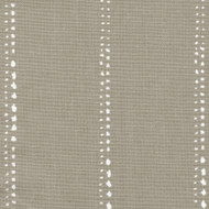 Carlo Cove Taupe Stripe Round Tablecloth