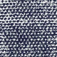 Zoey Vintage Indigo Geometric Round Tablecloth