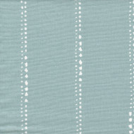 Carlo Spa Blue Stripe Round Tablecloth