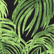 Villa Palm Cayman Green Duvet Cover