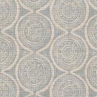 Atlas Swedish Blue Geometric Decorative Pillow