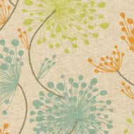 Irish Daisy Ridgeland Floral Tab Top Curtain Panels