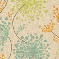Irish Daisy Ridgeland Floral Pinch-Pleated Patio Door Curtain Panels