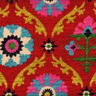 Mayan Medallion Desert Flower Pinch-Pleated Curtain Panels