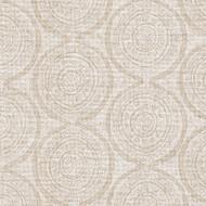 Atlas Chalk White Geometric Neck Roll Pillow