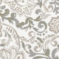 Shannon Ecru Floral Paisley Bolster Pillow
