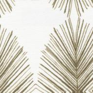 Tulum Sand Geometric Beige Gathered Bedskirt